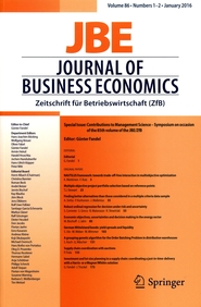 Journal of Business Economics 86
